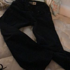 Black Levi's boys straight leg jeans